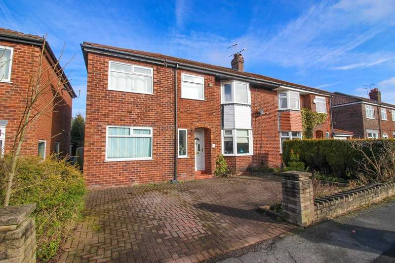 4 Bedrooms Semi Detached House for sale in Aldwyn Crescent, Hazel Grove, Stockport, SK7