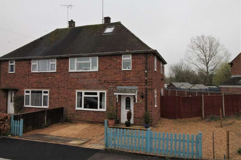 3 Bedrooms Semi Detached House for sale in Naseby Close, Market Harborough