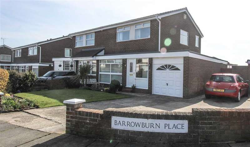 3 Bedrooms Semi Detached House for sale in Barrowburn Place, Seghill
