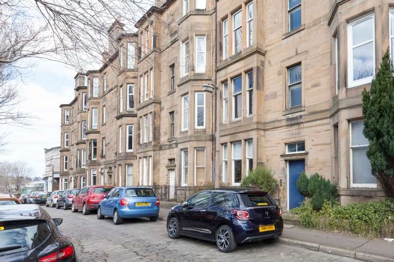 1 Bedroom Ground Flat for sale in Hermand Terrace, Shandon, Edinburgh, EH11 1QZ