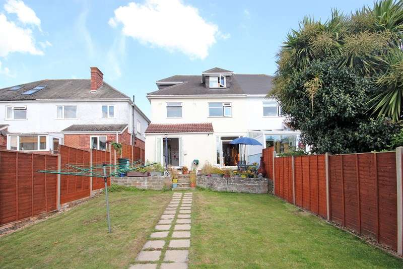 4 Bedrooms Semi Detached House for sale in Covena Road, Southbourne, Bournemouth