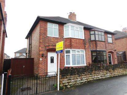 3 Bedrooms Semi Detached House for sale in Middle Avenue, Loughborough, Leicestershire