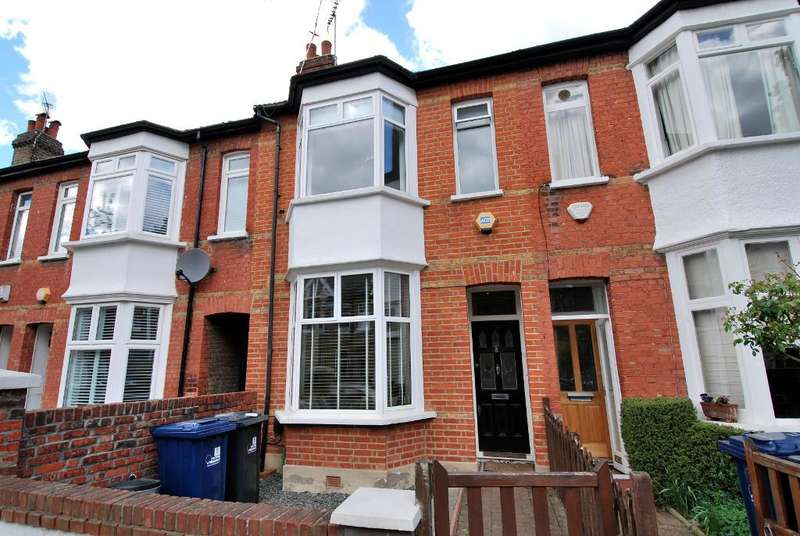 3 Bedrooms Terraced House for sale in Devonshire Road, Ealing, London, W5 4TP