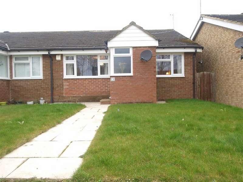 2 Bedrooms Semi Detached Bungalow for sale in Pentridge Close, Cramlington