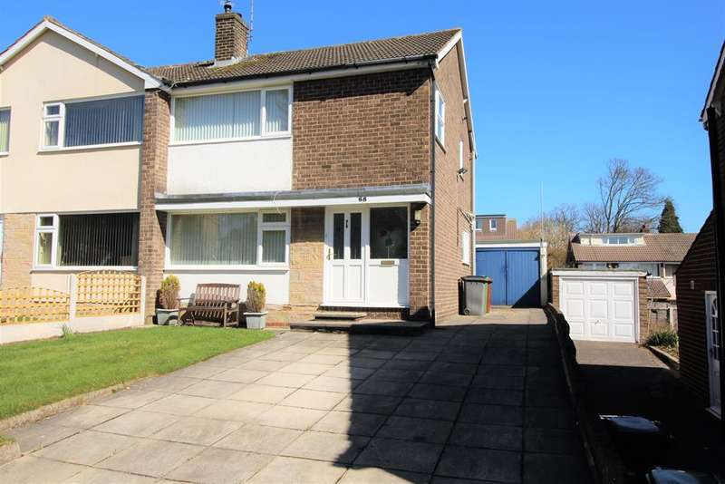 3 Bedrooms Semi Detached House for sale in Newlay Grove, Horsforth, LS18