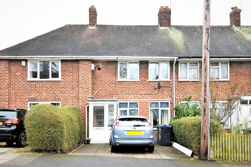 3 Bedrooms Terraced House for sale in Elderfield Road, Kings Norton, Birmingham, B30