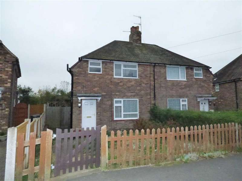3 Bedrooms Semi Detached House for sale in Camillus Road, Knutton, Newcastle-under-Lyme