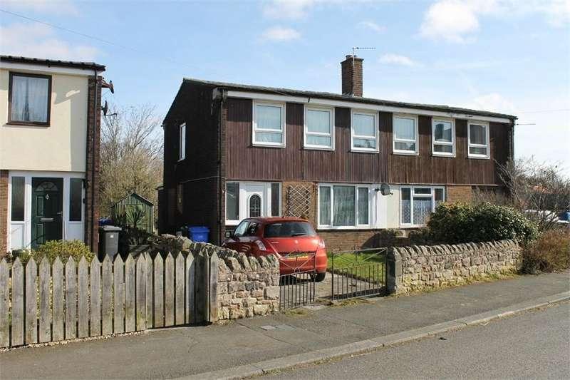 3 Bedrooms Semi Detached House for sale in Burnside, Belford, Northumberland