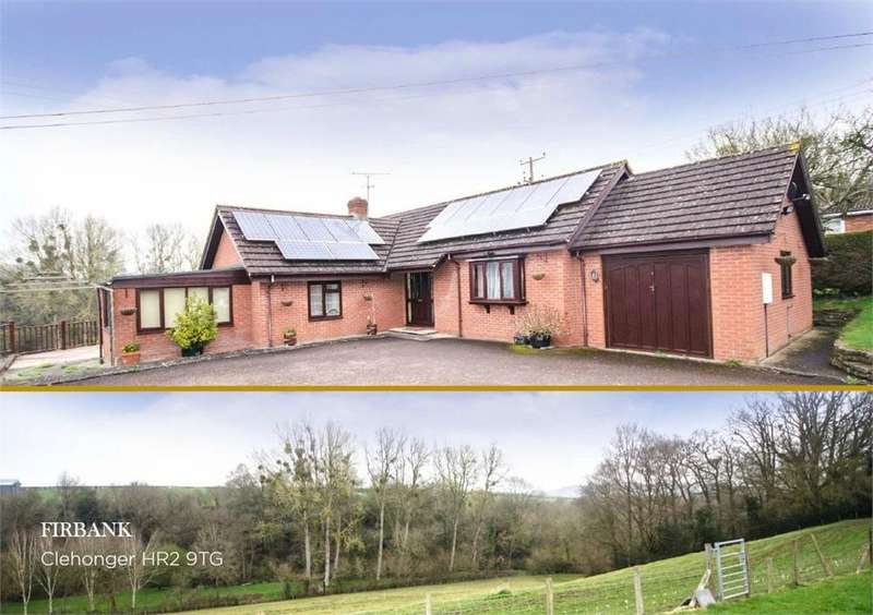 2 Bedrooms Detached Bungalow for sale in Clehonger, Herefordshire