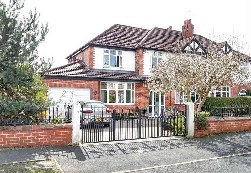 5 Bedrooms Semi Detached House for sale in Granville Road, Timperley, Cheshire
