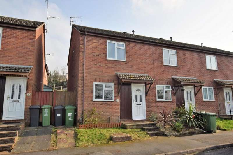 2 Bedrooms House for sale in Britten Drive, Broadfields, EX2