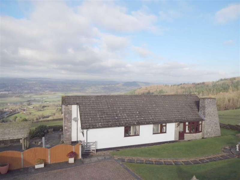 3 Bedrooms Detached Bungalow for sale in Overhill, Leighton, Welshpool, SY21