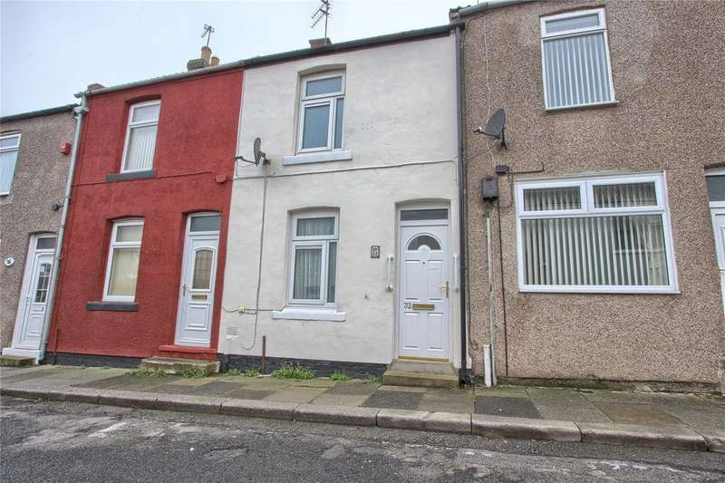 2 Bedrooms Terraced House for sale in Charlotte Street, Skelton-in-cleveland