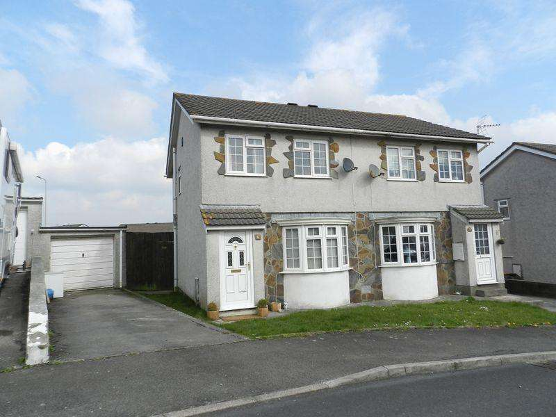 3 Bedrooms Semi Detached House for sale in Hawthorn Way Brackla Bridgend CF31 2PG