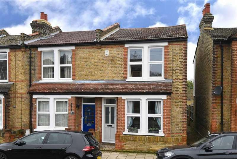 2 Bedrooms End Of Terrace House for sale in Foxbury Road, Bromley, Kent