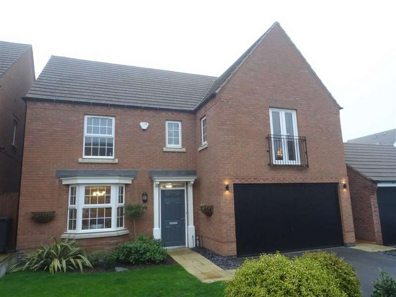 4 Bedrooms Detached House for sale in Paris Close, Hinckley