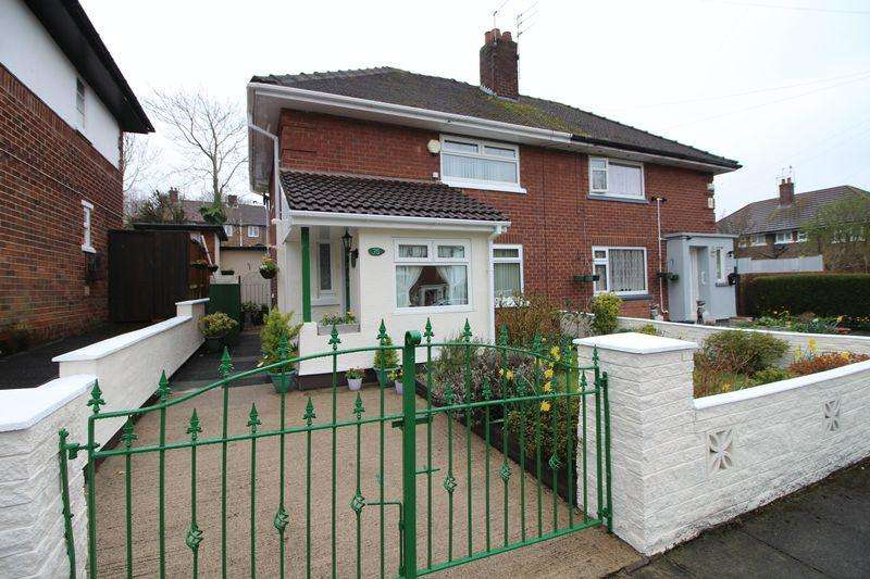 2 Bedrooms Semi Detached House for sale in Clee Hill Road, Birkenhead