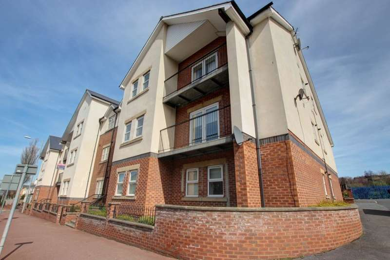2 Bedrooms Flat for sale in Symphony Court Durham Road, Gateshead, NE8