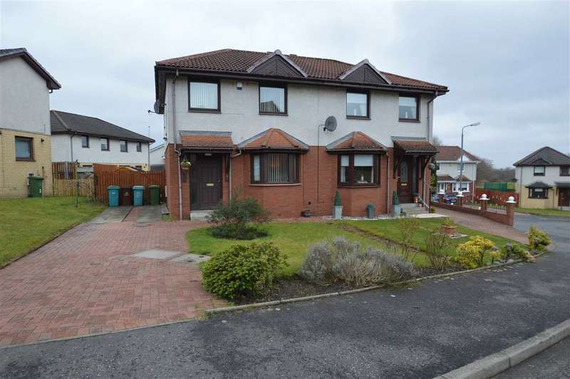 3 Bedrooms Semi Detached House for sale in Crieff Avenue, Chapelhall
