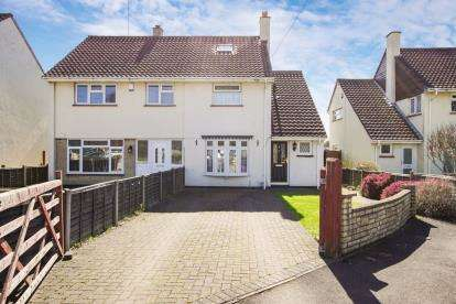 2 Bedrooms Semi Detached House for sale in Crown Gardens, Warmley, Bristol