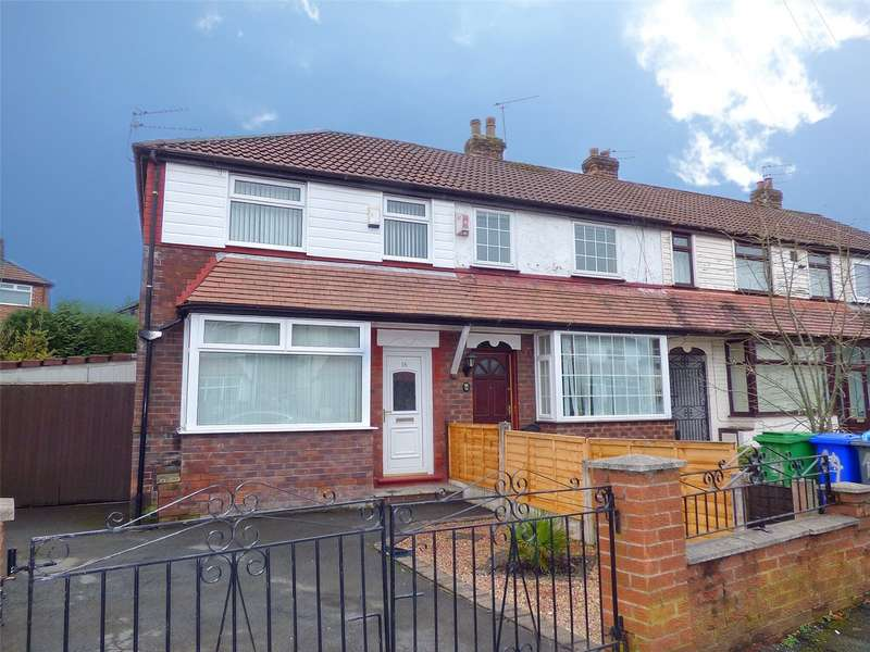 2 Bedrooms End Of Terrace House for sale in Melverley Road, Blackley, Manchester, M9