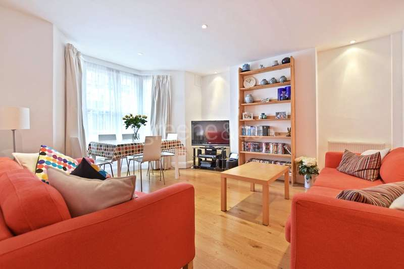 3 Bedrooms Maisonette Flat for sale in Bravington Road, Maida Vale, London, W9