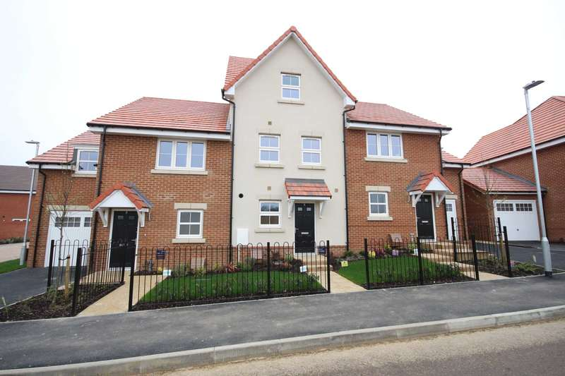 4 Bedrooms Terraced House for sale in Chapman Drive, Binfield