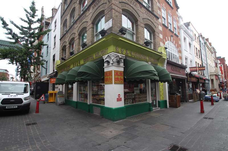 Retail Property (high Street) Commercial for rent in Gerrard Street, Chinatown, W1D