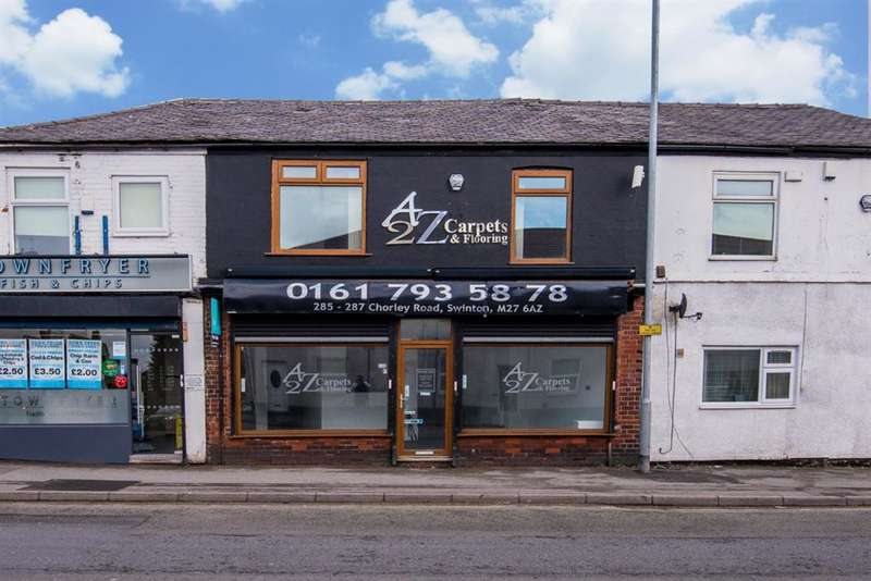 1 Bedroom Commercial Property for sale in Chorley Road, Swinton, Manchester, M27 6AZ