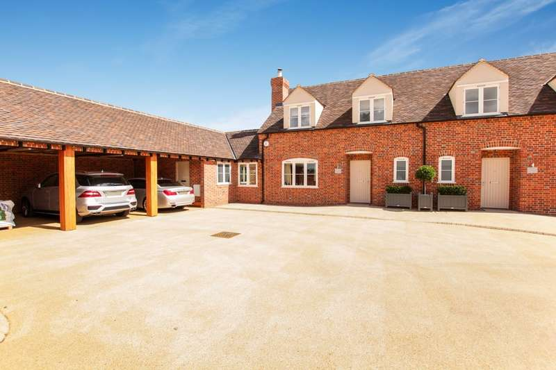 4 Bedrooms Semi Detached House for sale in End House, Yew Tree Courtyard, Nuneham Courtenay