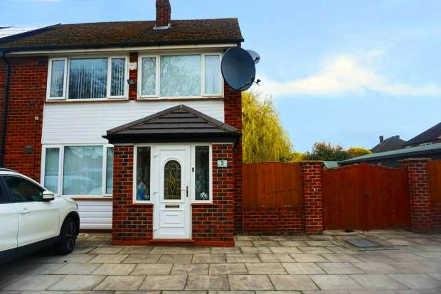 4 Bedrooms Semi Detached House for sale in Goldie Avenue, Manchester, Greater Manchester, M22 5JL