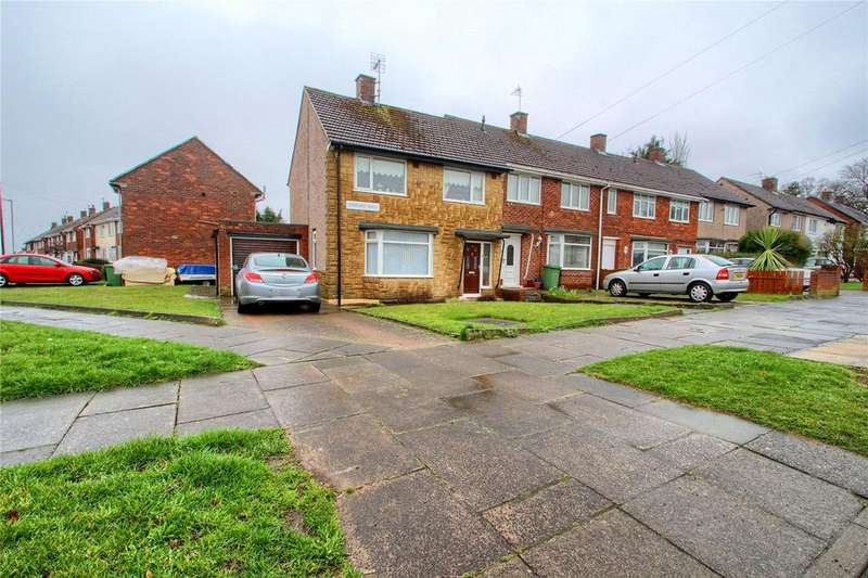 3 Bedrooms End Of Terrace House for sale in Romford Road, Roseworth