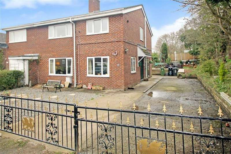4 Bedrooms Semi Detached House for sale in Sycamore Drive, Chirk