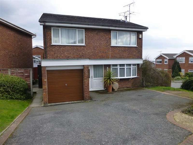 4 Bedrooms Detached House for sale in Wheat Close, Wrexham