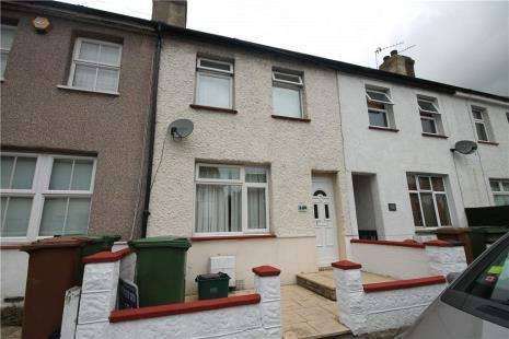 2 Bedrooms Terraced House for sale in Longfellow Road, Worcester Park