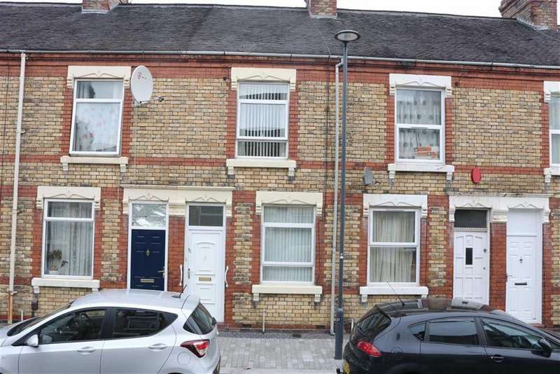 2 Bedrooms Terraced House for sale in Spencer Road, Shelton, Stoke-on-Trent
