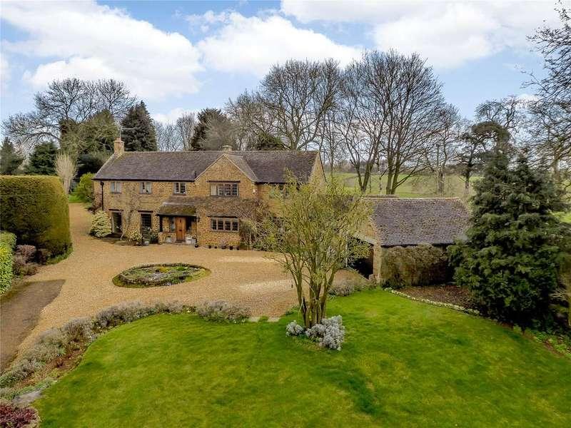 4 Bedrooms Detached House for sale in Chapel Lane, Balscote, Banbury, Oxfordshire