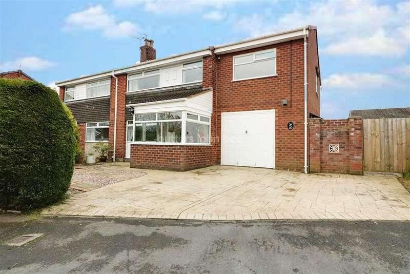 4 Bedrooms Semi Detached House for sale in Hewitt Grove, Wincham