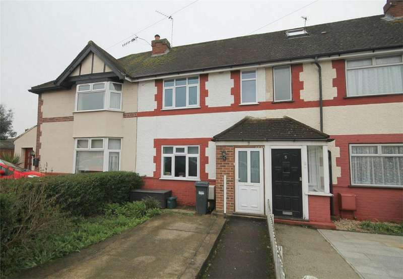 2 Bedrooms Terraced House for sale in Denison Road, Feltham, Middlesex