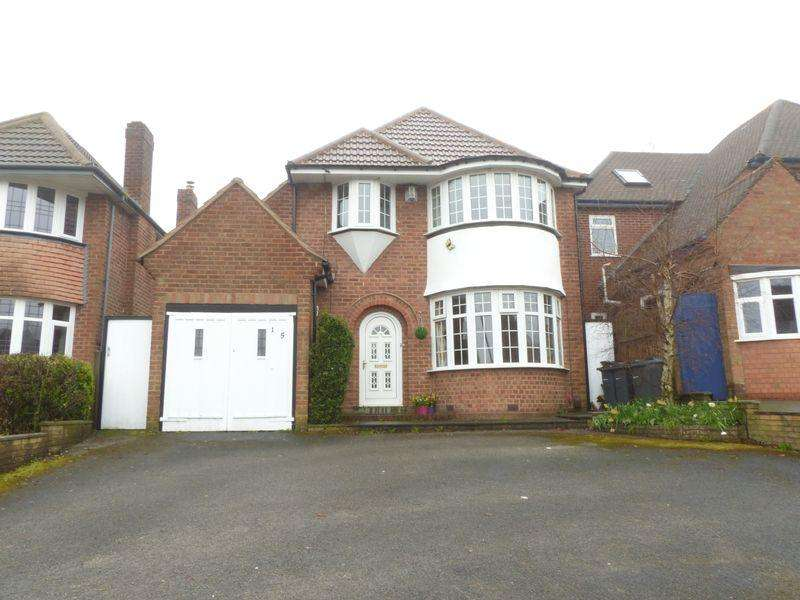 3 Bedrooms Detached House for sale in Westwood Road, Sutton Coldfield