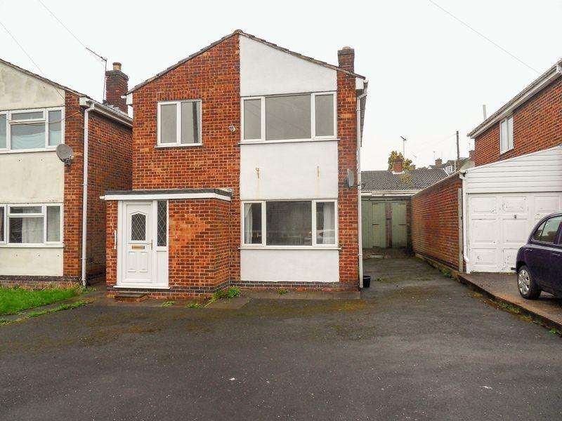 3 Bedrooms Detached House for sale in Buckley Close, Measham