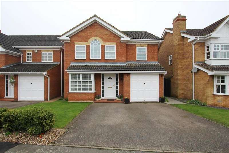 4 Bedrooms Detached House for sale in Foxglove Drive, Biggleswade, SG18