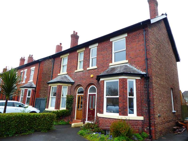 4 Bedrooms Semi Detached House for sale in Northenden Road, Gatley, Cheshire