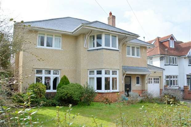 5 Bedrooms Detached House for sale in Browning Avenue, Boscombe Manor, Bournemouth