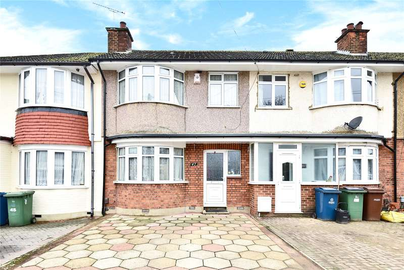 3 Bedrooms Terraced House for sale in Ravenswood Crescent, Harrow, Middlesex, HA2