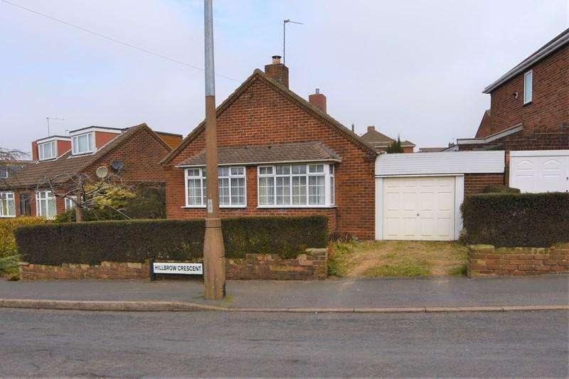 2 Bedrooms Detached Bungalow for sale in Hillbrow Crescent, Halesowen