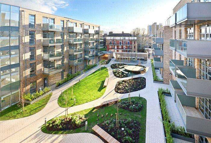 2 Bedrooms Flat for sale in Alwen Court, 6 Pages Walk, Bermondsey, London, SE1