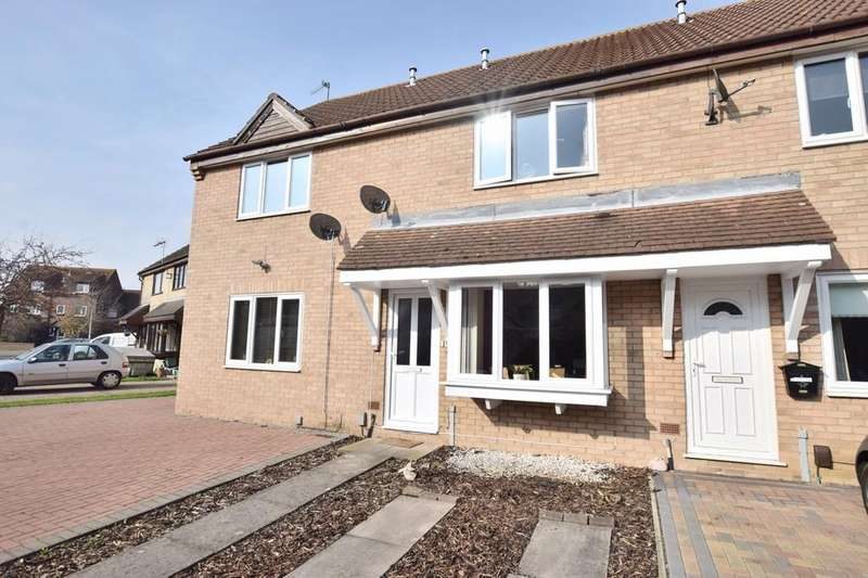 2 Bedrooms Terraced House for sale in Cleveland Close, Highwoods, Colchester CO4 9RD