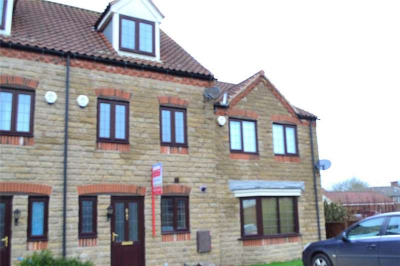 3 Bedrooms Terraced House for sale in Barnard Meadows, Kirton Lindsey, Gainsborough, Lincolnshire, DN21