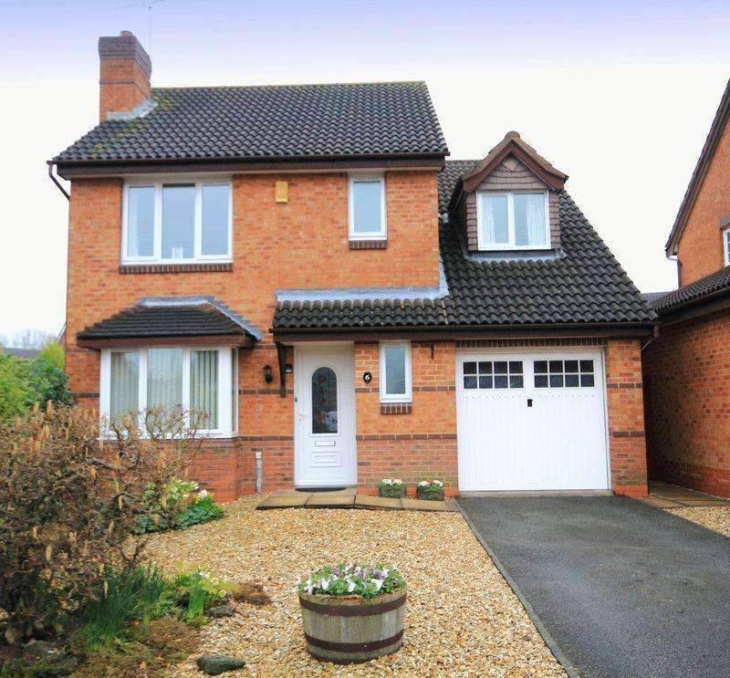 4 Bedrooms Detached House for sale in WARRENDALE COURT, CHELLASTON